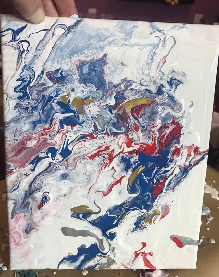 paint pour 1